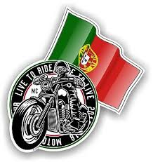 Cross Flags Design With Portugal Portuguese Flag Vinyl Car Sticker Decal 90x52mm Archives Midweek Com