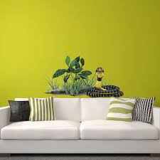 Cobra Snake Wall Sticker Learn How To Build A Jungle Themed Wall