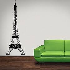 Eiffel Tower Wall Decal By Style Apply