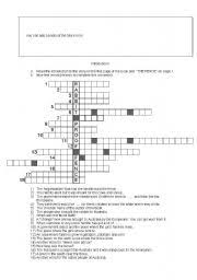 English Worksheets Rabbit Proof Fence Introduction Crossword