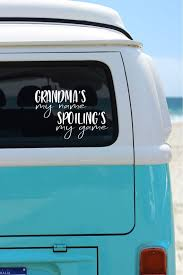 Grandma S My Name Spoiling S My Game Car Decal Phone Etsy