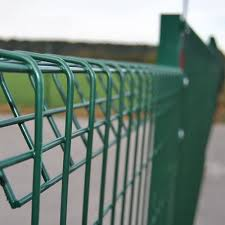 Roll Top Mesh Panel Security Fencing