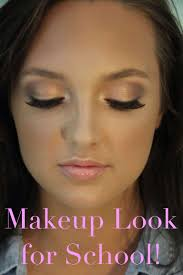 how to do cute makeup for middle