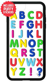 Alphabet Soup Iphone 6 7 8 Plus Case Includes Stickers Wildflower Cases