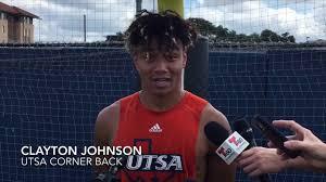UTSA Fall Practice Report with CB Clayton Johnson 8.7.18 - YouTube