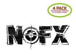 Nofx Sticker Vinyl Decal 4 Pack For Sale Online
