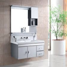 stainless steel bathroom cabinet with