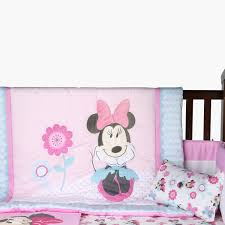 minnie mouse printed 5 piece comforter