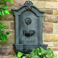 marina outdoor wall water fountain lead