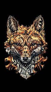 art fox hipster wallpaper cool