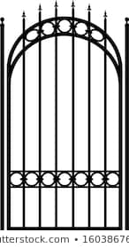 Gothic Fence Images Stock Photos Vectors Shutterstock