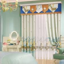 Kid Room Curtains Zebra Patterns Cotton No Valance