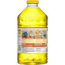 pine sol all purpose cleaner lemon