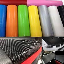 Practical Black Decal Car Roll Wrap Sticker Vinyl 3d Carbon Fiber Diy Film Sheet Buy At A Low Prices On Joom E Commerce Platform