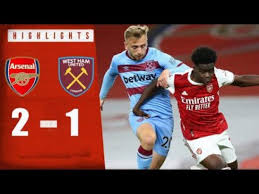 Video: Arsenal 2 - 1 West Ham (Premier League) 2020/21 Highlights