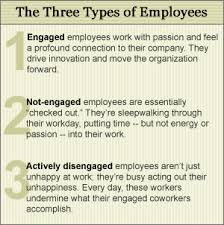 getting personal in the workplace article on employee engagement