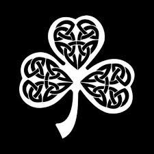 Irish Celtic Knot Clover Vinyl Decal Sticker