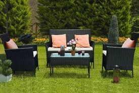 4pc rattan garden set wowcher
