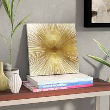 Wade Logan 'Radiant Gold' by Abby Young - Wrapped Canvas Graphic ...