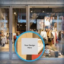 Custom Window Decals Window Decals For Business Vistaprint