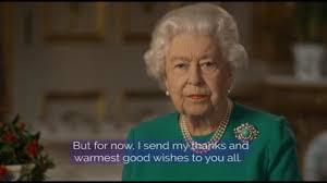 Coronavirus | Regina Elisabetta :«Il mondo è unito. La vittoria ...