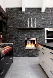 kitchen cabinets modern fireplace