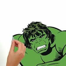 Classic Hulk Comic Giant Wall Decals Roommates Decor