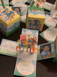 Fun And Colorful 3d Pocoyo Theme Invitations For Angel Manuel S