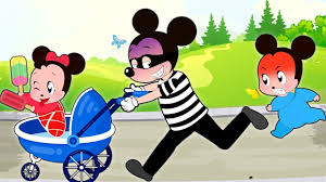 ᴴᴰ Mickey Mouse & Minnie Mouse Learn Colors Funny Story! The ...