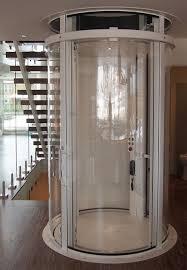 visilift round glass elevator com