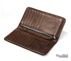 soft leather wallets for men coffee