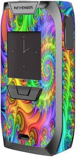 Amazon Com Skin Decal Vinyl Wrap For Vaporesso Revenger Kit Vape Stickers Skins Cover Trippy Color Swirl
