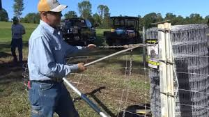 Stretching High Tensile Woven Wire Farm Fencing Installation Tips And Tricks Youtube