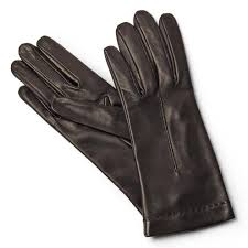 leather gloves lined in silk made in