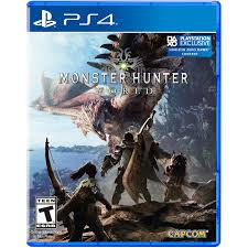 Capcom Monster Hunter World Sony Playstation 4 013388560424 Walmart Com Walmart Com