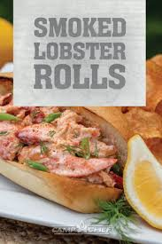 Smoked Lobster Roll | Recipe