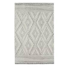 beige light gray area rug