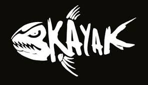 Kayak Fishing Decal White Choose Size Etsy