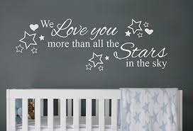 Show Your Love For Kids With We Love You More Wall Decal Sticker
