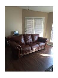 leather faux leather couch question