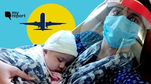 how i took a flight with new born baby
