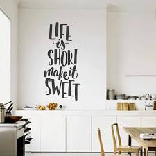 Kitchen Wall Sticker For Wall Kitchen Quote Decal Kitchen Vinly Wall Stickers Family Quote Decal Kitchen Wall Decors G39 Wall Stickers Aliexpress
