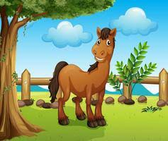 A Horse Jumping Over The Fence Download Free Vectors Clipart Graphics Vector Art