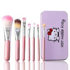 o kitty makeup brush set for
