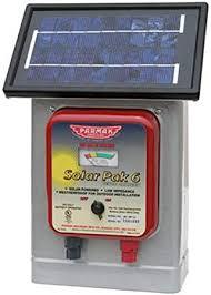 Amazon Com Parmak Df Sp Li Solar Pak 6 Low Impedance 6 Volt Battery Operated 25 Mile Range Electric Fence Charger Livestock Equipment Garden Outdoor