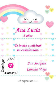 Tarjeta Invitacion Playa Digital Cumpleanos 150 00 En Mercado