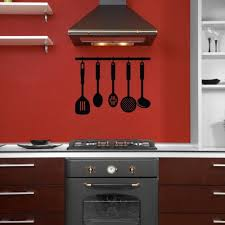 Silverware Kitchen Food Utensils Decal Vinyl Sticker Wall Decor Vinylwallaccents On Artfire