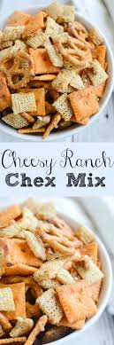 cheesy ranch chex mix fake ginger