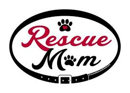 Rescue Mom Euro Pet Decal
