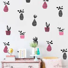 Diy Newest Vase Wall Stickers Wallpaper Furniture Cabinets Decal Kids Baby Room Decoration Home Decor Aliexpress